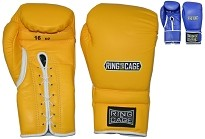 Japanese Style Training Gloves 2.0 - Leather - Velcro or Lace-Up